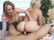2 Chicks Same Time Harley Jade