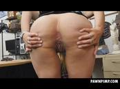Big Booby Blonde Ivy Rose Using Her Finger On Herself