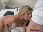 Mature Bombshell Cory Chase Blows Her Hung Lover