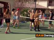 Hot swinger orgy between swinger couples who love to full swap and fuck.