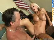 Busty Bitch Fucked Hard