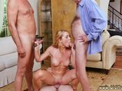 Old mature eating and virgin Frannkie And The Gang Tag Team A Door To