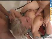 Nice Orgy Cumshot :)
