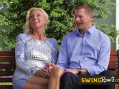 Swingers have hard sex in the Red Orgy Room. American swinger couples on national television.