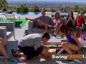 Amateur reality swing show. Swinger young couples embark the best sexual adventure on TV.