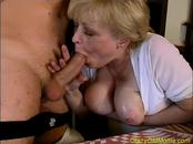 Nasty Old Slut Pounded By Hard Shaft