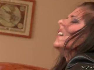 Fully Clothed Cute Chick  Gets Screwed By This Horny Dude
