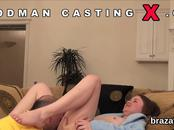 Casting bombshell goes home after hardcore sex and anal nailing