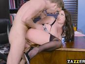 Big tittied Angela  spread her legs wide open