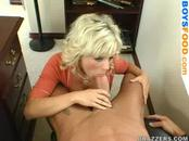Secretary Hot Blowjob