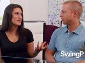 Insecure wife shakes off her insecurities as she joins swing lifestyle