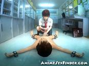 3D Japanese Schoolgirl Handjob!