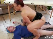 Amateur milf anal cock Big Tit Step-Mom Gets a Massage