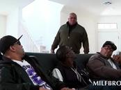 Arousing MILF craving for some black cocks
