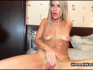 Cocksucking Blonde Loves Getting Her Throat Rammed