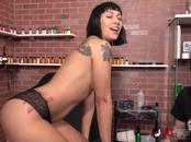 Selena Savage has her tits tattooed then gets fucked