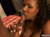 Ebony big tit star Kelly Starr fucked great