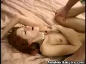 Redhead Amateur Gets Creampied