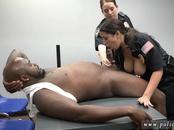 Interracial white trash whore hd Milf Cops
