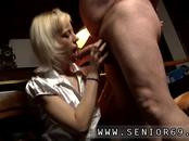 Old blowjob and red head first time Bruce has been married for 35