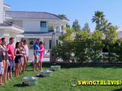 Swinger mansion filled with hot amateur partner swapping swingers will exceed their expectations