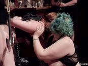 Ass to mouth bdsm orgy party