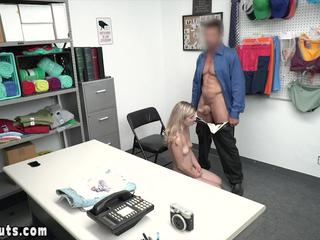 Teen criminal freedom fucking with big cocked offiicer