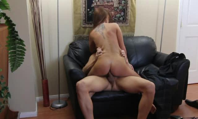 Brunette Fucked Doggystyle On Hidden Camera In Office