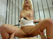 Wild Prisoner Elizabeth Jolie Loves Good Dicking