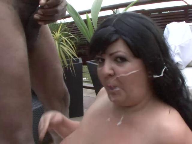 Bbw wife loving a fat cock