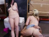 Caught squirting public xxx Lesbians Pawn Their Asses!