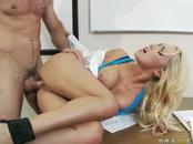 Slim Breanne Hammered By Patient