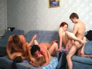 Horny Teen Trio Enjoy Fuc