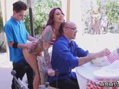 Neighbor catches mom and step doctors office xxx Awesome 4th Of July
