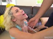 Foot blowjob hd xxx Kimberly Moss gets treated like a good little