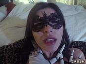 Teen slut fucks in detention and horny squirt cam Swalloween Fun