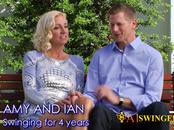 Amateur american couple wants full swap and can't wait to meet other couples in the Swing House.