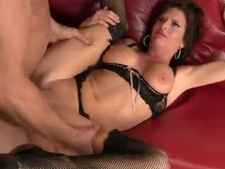 Hot Cougar Teacher Veronica Beaned and Reamed!