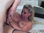 My girlfriends Phoenix Marie whore binds me and fucks me like hard sex