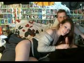Me and my stepsister have fun on webcam