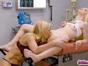 Sexy doctor Serena Siren fucking her hot patient Kenzie Reeves