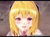 3D Hentai Teacher Fucks Schoolgirl!