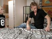 Panties sniffing stepdad caught by tiny stepdaughter