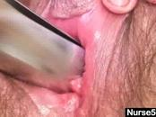 Aged Nurse Whores Out Vagina