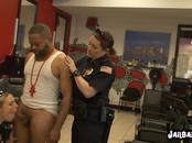 Desperate milf cops make Keith Williams take turns to bang them