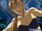 Hentai girl gets fucked by shemale