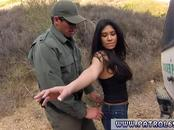 Police busted first time Busty Latin floozie Alejandra Leon