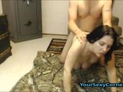 Horny Husband Banged Wife Hardcore And Cum On Her Face