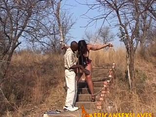 Hot babe enjoys being tortured
