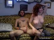 Amateur Webcam RedHead Facial - SexCamStream.com